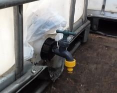 IBC trailer water carrier bowser